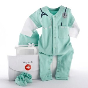 a baby doctor layette set