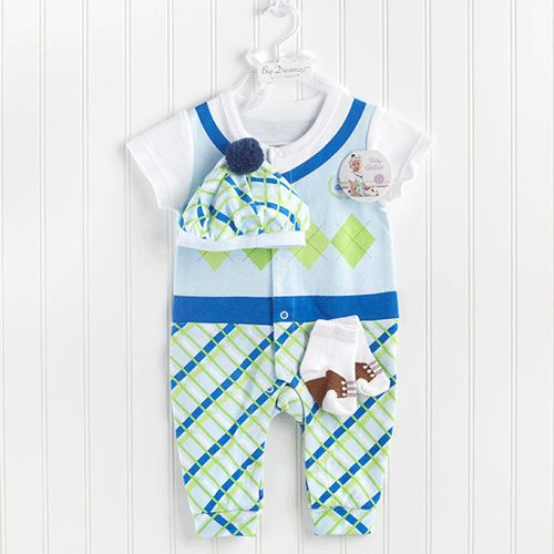 golfer boy layette