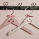 wooden hangers for kids with cherries