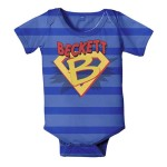 superhero personalized snapsuit
