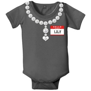 personalized new girl onesie