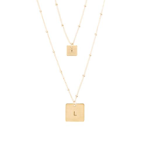 Layered Square Necklace