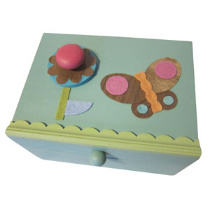 Butterfly Music Box for girls