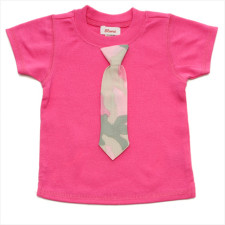 Little Lady Tie Tee for kids
