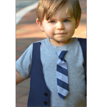 Dapper Dude Vest Tee for Baby