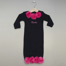 Rose Gown for Baby Girl