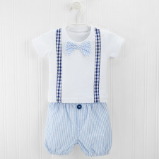 Little Man Tee and Diaper cover set