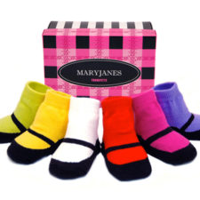 Mary Jane Baby Socks for Girls by Trumpette