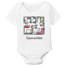Future Architect Organic Onesie
