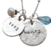 Gold and Silver Personalized Moms Necklace