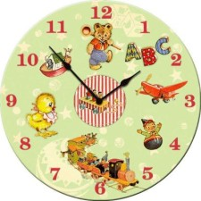 abc playtime wall clock