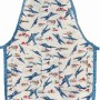 Boys vintage airplane kids apron