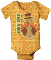 Turkey Personalized Onesie
