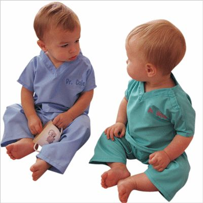 0bcd08cd915 personalized mini scrubs for Baby - Myretrobaby.comMyretrobaby.com