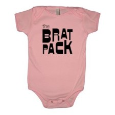the brat pack infant and toddler shirts