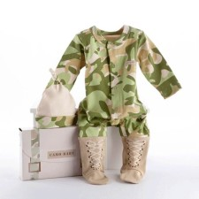 little trooper layette set