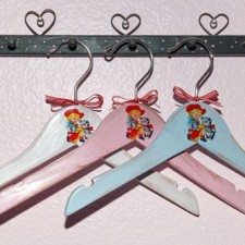 Cowgirl Hangers for Kids