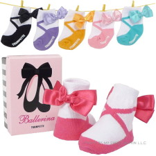 Ballerina Baby Socks Gift Set for Baby Girl