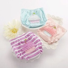 Cupcake Baby Bloomers Set