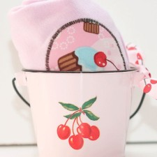 cupcake tee and mini bucket set