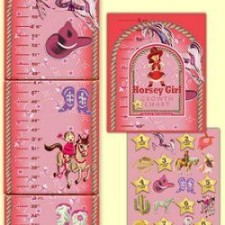 Cowgirl growth chart for kids