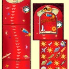 space growth chart for kids