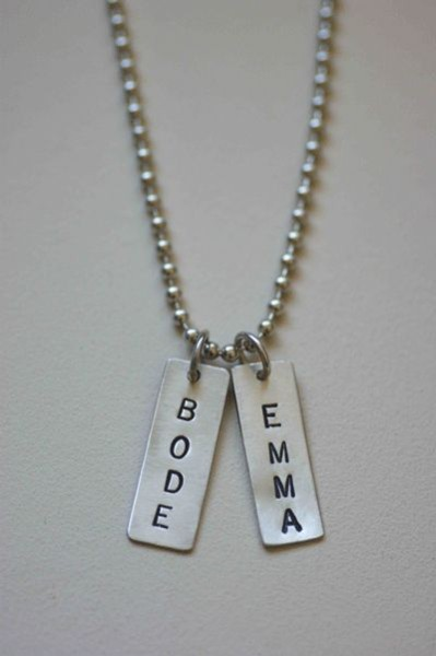 Sterling Silver Daddy Tags