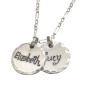 Multi Charm Sterling Silver Necklace