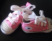 Bling toddler converse shoes