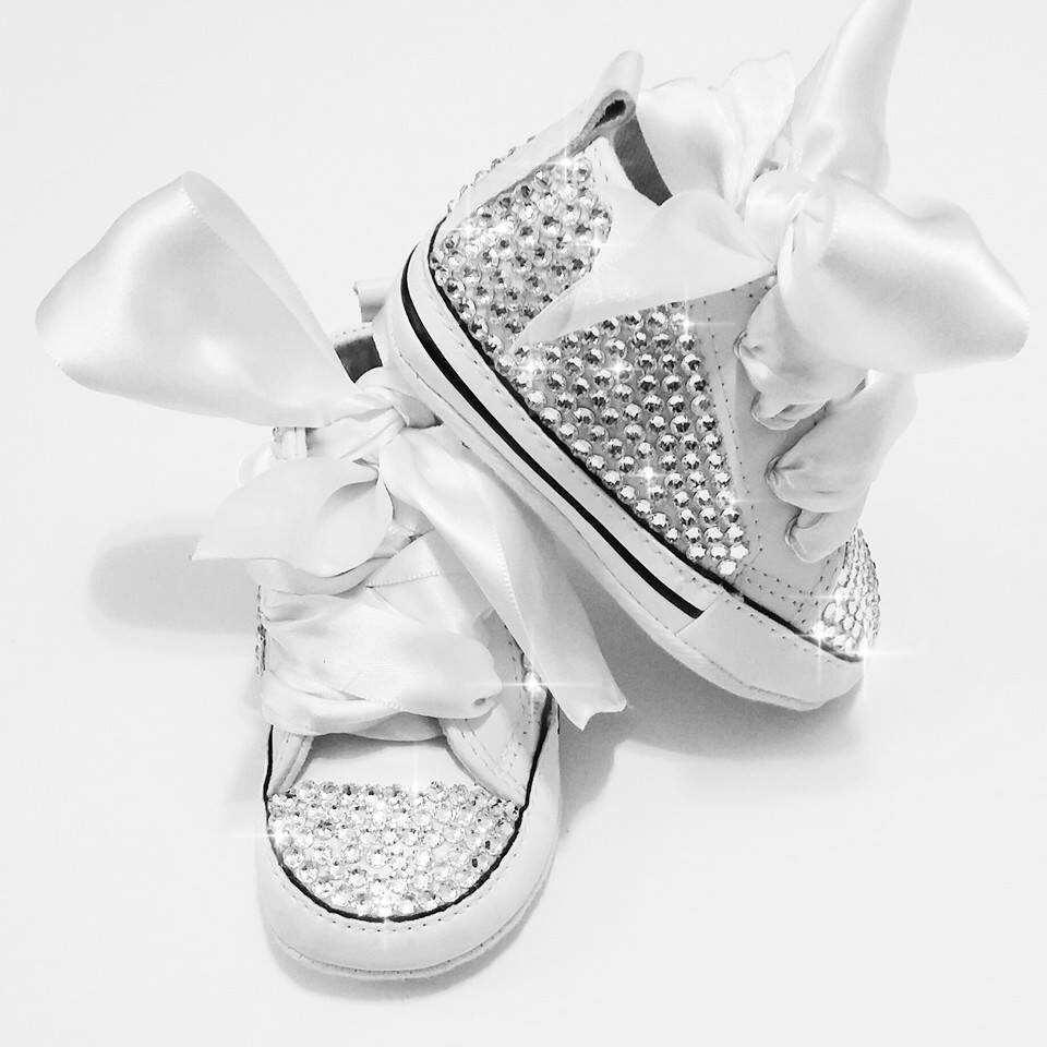 9cf44b76362e Bling baby converse shoes ...