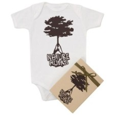 Nature Rocks Organic Onesie for Baby