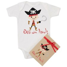 Pirate Organic Onesie