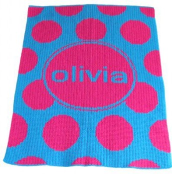 Modern Dot Personalized Blanket