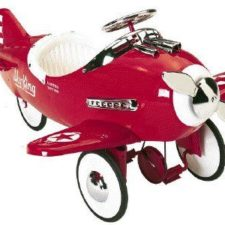 Red sky king plane for kids