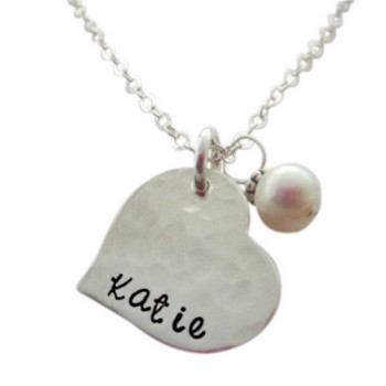 Sweet Heart Name Necklace
