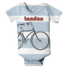 Personalized Bicycle Onesie