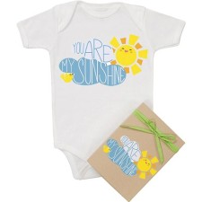you are my sunshine organic onesie