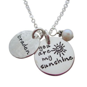 You are My Sunshine Necklace For Moms