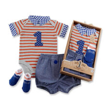Baby Boys First Birthday Outfit