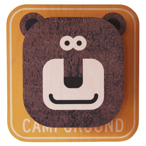brown bear 3d art