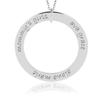 Forever Loop Mom Necklace