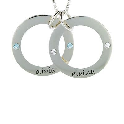 Two Wee Loops Mommy Necklace