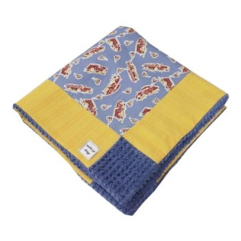 fire engines baby blanket