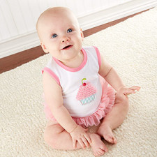 Cupcake Baby Girl Outfit