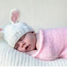Baby Bunny Stocking Cap