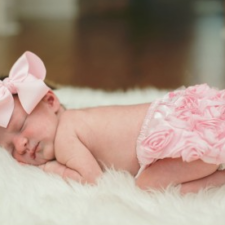 Ruffle Baby Bloomers for Baby Girl