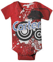 Prepster Personalized Onesie