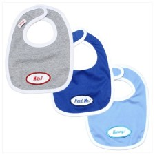 Personalized Baby Bib Set for Baby Boy