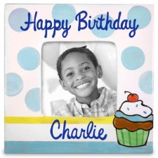 Birthday Boy Personalized Frame