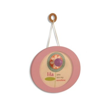 musical wooden wall hanging